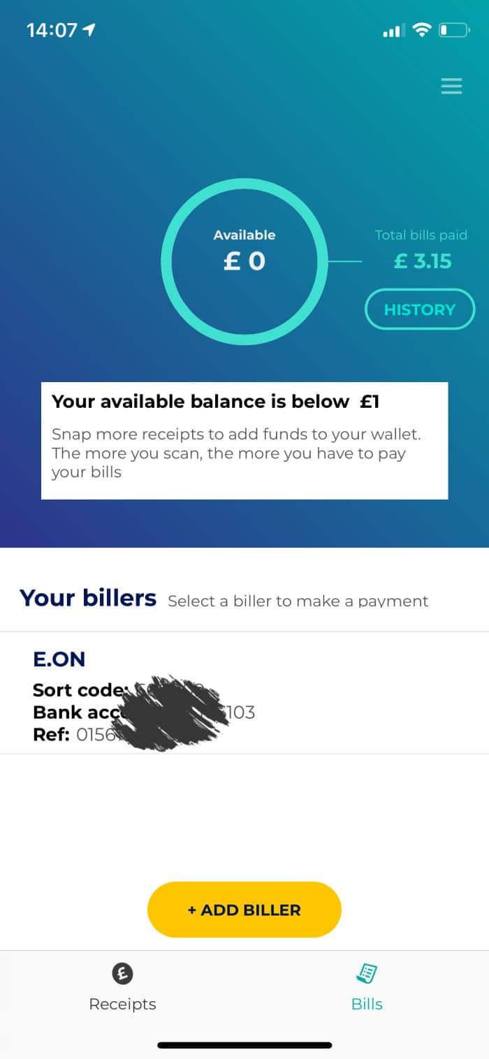 pay bills with zipzero