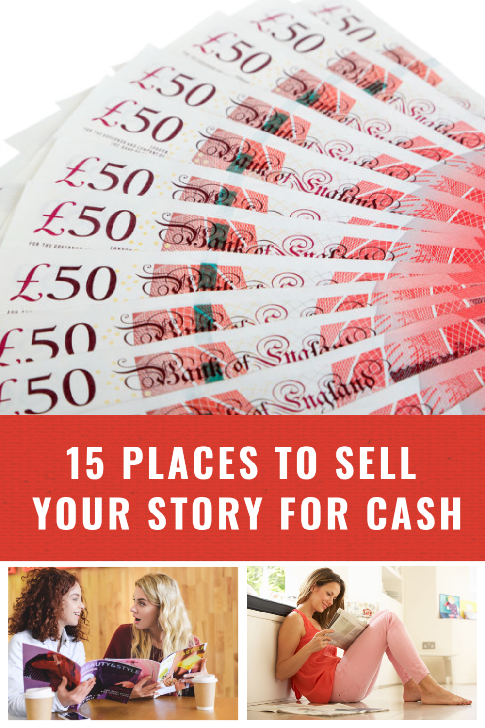 sell your story to newspapers