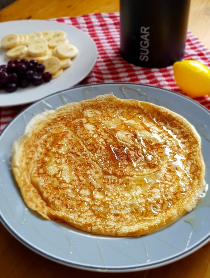 shrove tuesday pancake recipe