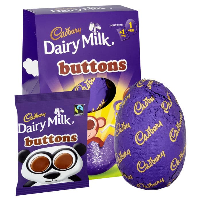 Dairy Milk Buttons Easter Egg