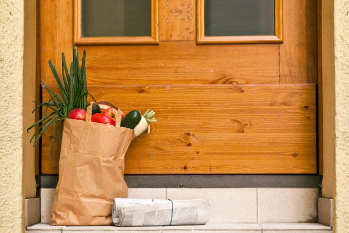 grocery contactless delivery