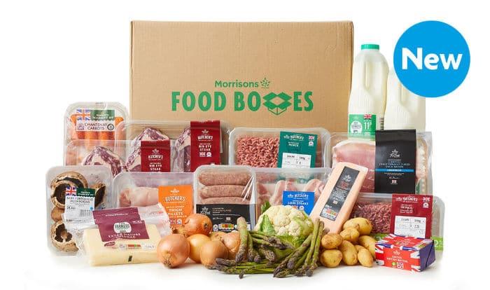 Morrisons British Food box