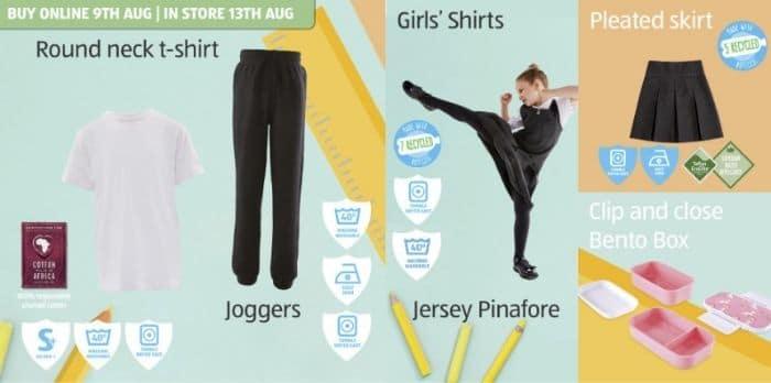 aldi school uniform 2020