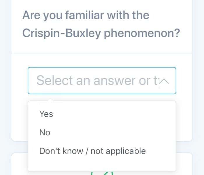 Crispin-Buxley Phenomenon on Prolific