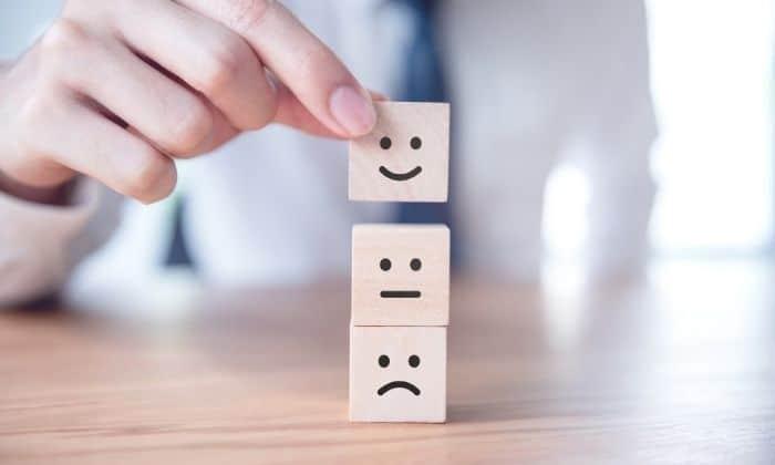 happy sad dice