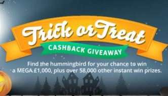 TopCashback Trick or Treat Giveaway 2020
