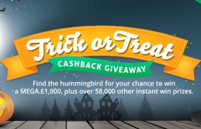 TopCashback Trick or Treat Giveaway 2020