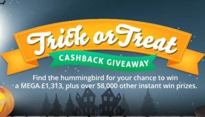 TopCashback Trick or Treat Giveaway 2021