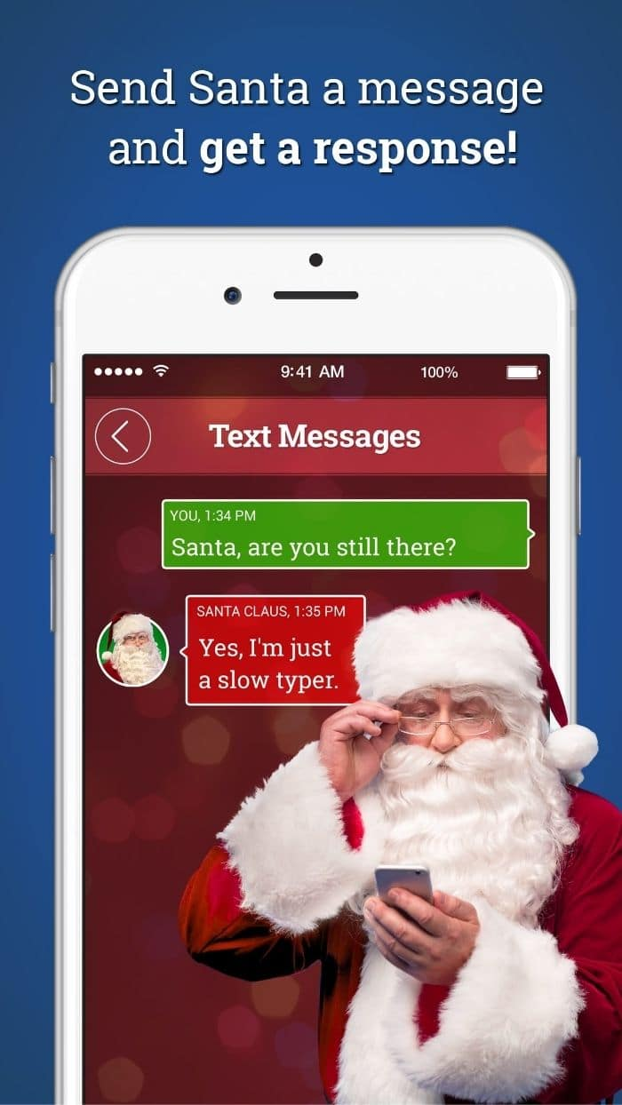 message from santa app