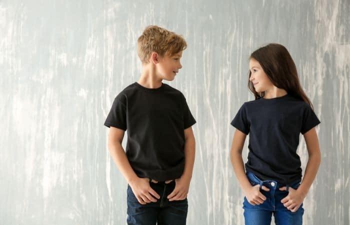 children modelling