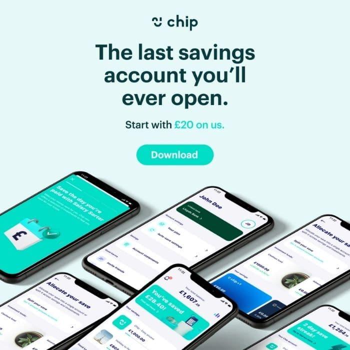 chip savings