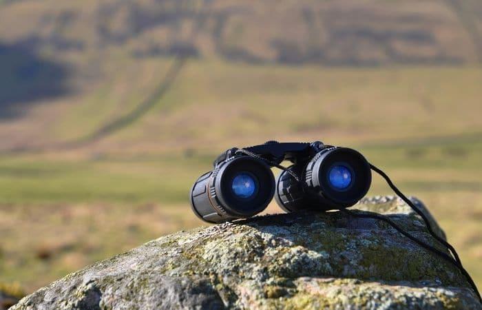 free pair of binoculars