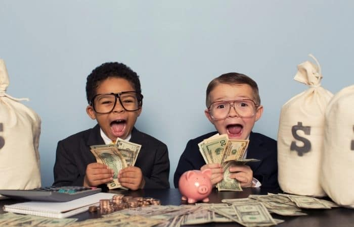 ways to make money fast as a kid