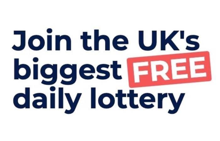 win free money pick my postcode
