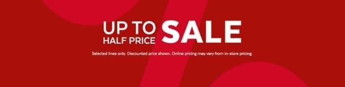 TU clothing sale
