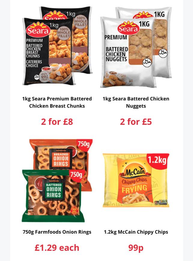 Farmfoods latest leaflet end 15 Feb 2021 1