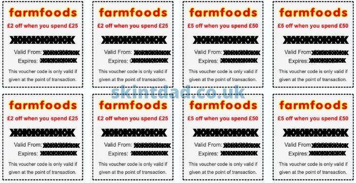 Farmfoods vouchers