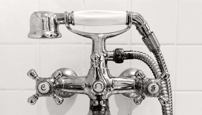 taps and shower mixer