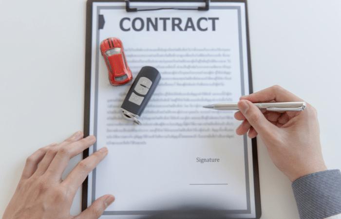 Para firmar un contrato