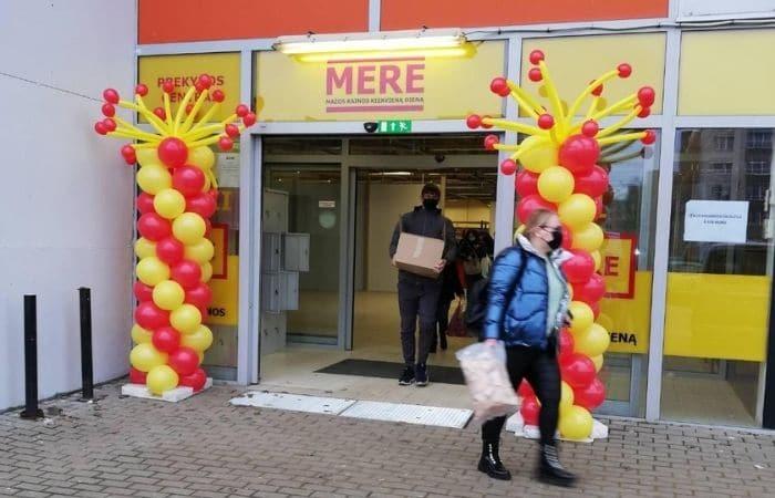 mere Russian supermarket