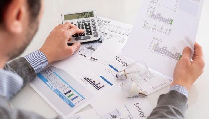 in debit meaning energy bill