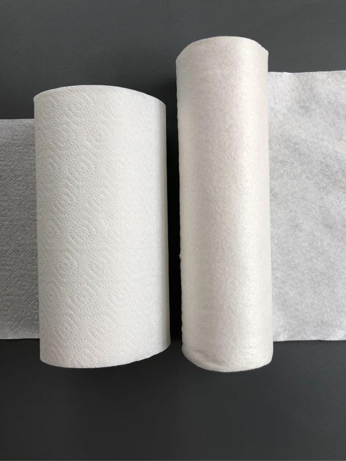 Toallas de bambú vs toalla de cocina