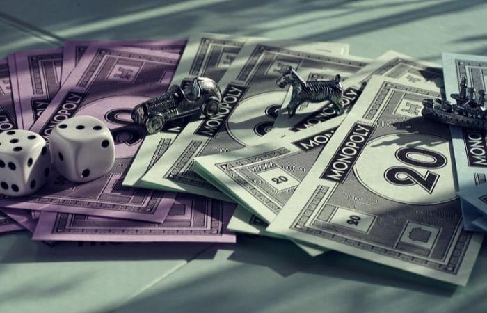 monopoly play money