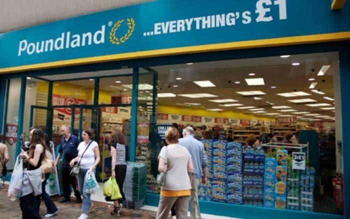 poundland store front