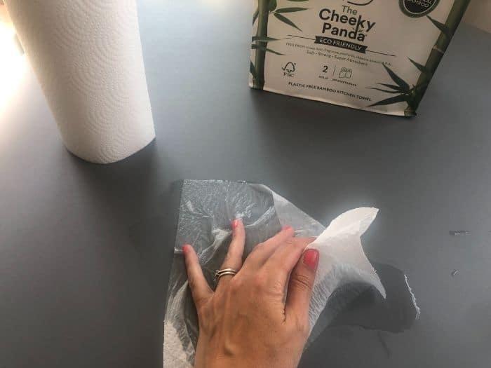 cheeky panda kitchen towel