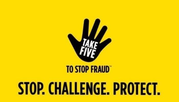 take five to stop fraud stop challenge protect