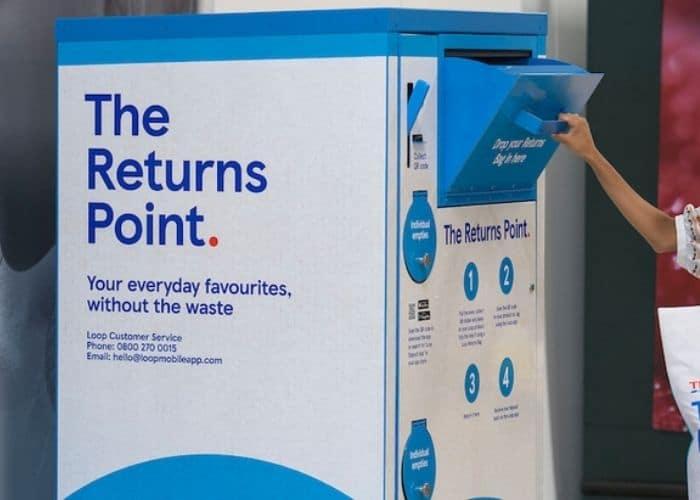 recycling loop packaging