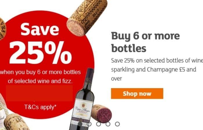 sainsbury's wine offers