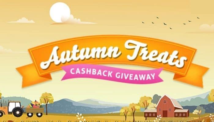 topcashback autumn treats