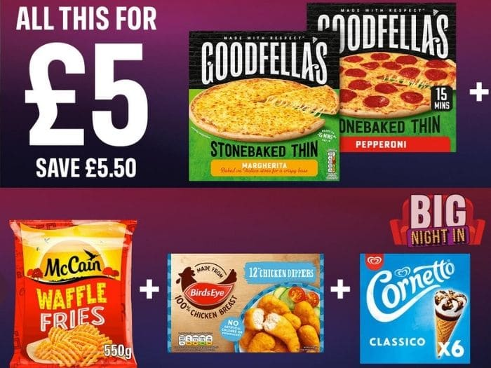 iceland meal deal